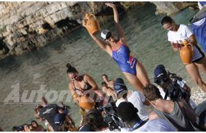 Rhiannan Iffland vince per le donne il Red Bull Cliff Diving Worls Series 2017
